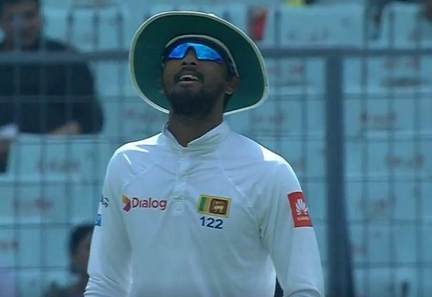 Sri Lankan skipper got away with it