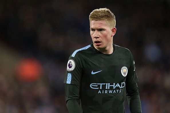De Bruyne is one of the calmest players in world football