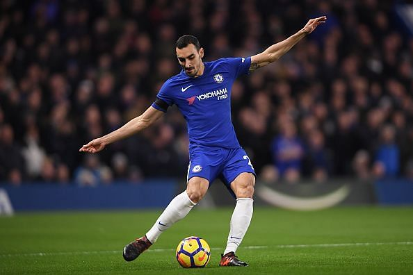 Zappacosta looked lively down the right flank