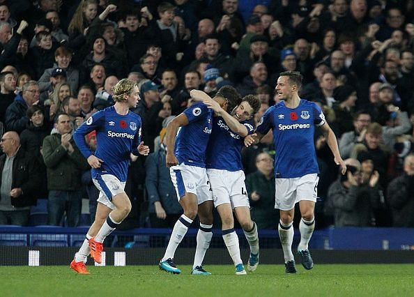 Everton dug deep to pick up a late win