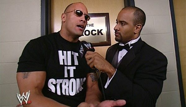 Jonathan Coachman had words of high praise for The Rock