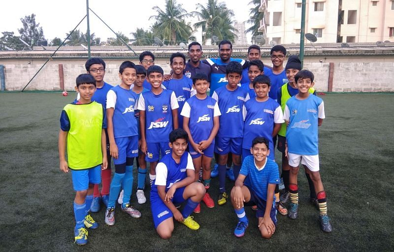 BFC Soccer Schools Programme contributed five players to the squad
