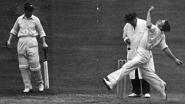 Ray Lindwall was one of the greatest fast bowlers of his generation.