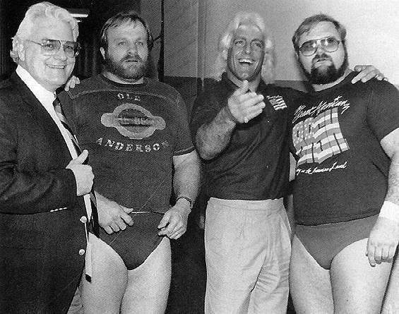 Arn, Ole, Ric, and JJ DIllon
