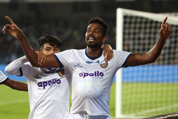 Dhanpal Ganesh goal Bengaluru Chennaiyin ISL 2017