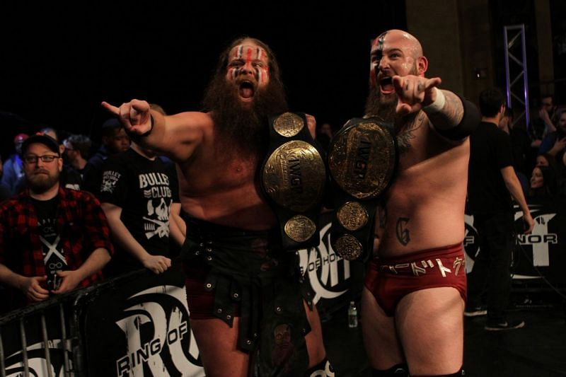 War Machine are two time IWGP Tag Team Champions