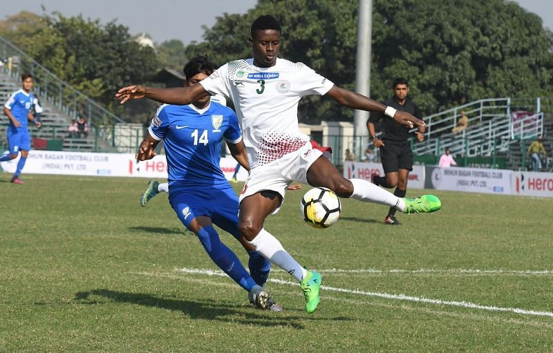 Kingsley was solid in defence for Mohun Bagan.