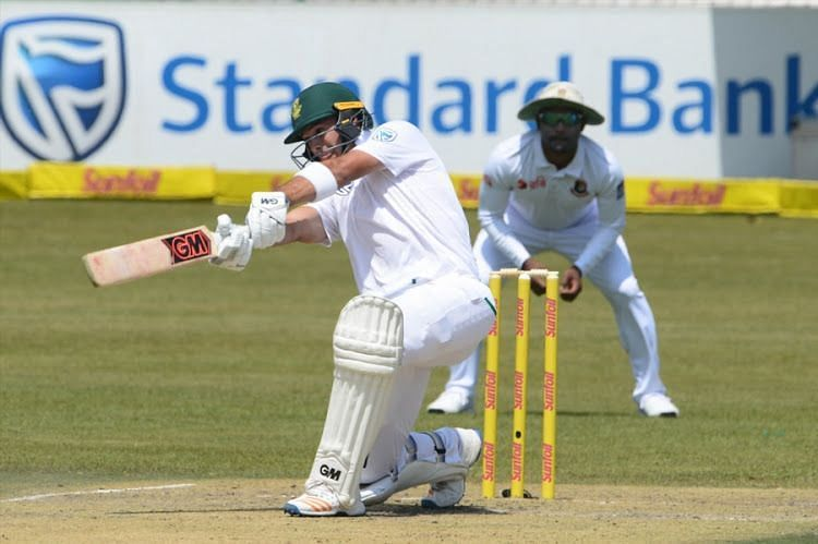 Aiden Markrammade his Test debutagainst Bangladesh in September, 2017.
