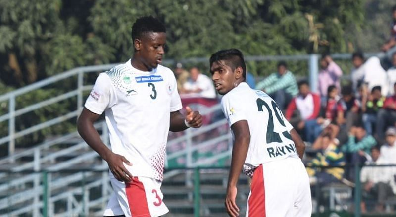 Mohun Bagan started the game well but then faded away.