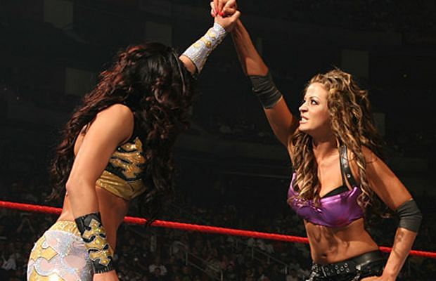 Candice Michelle retired in style on Saturday night
