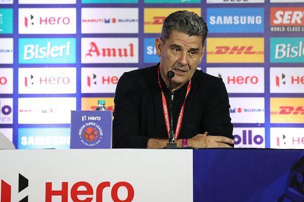 John Gregory Bengaluru FC vs Chennaiyin ISL 2017