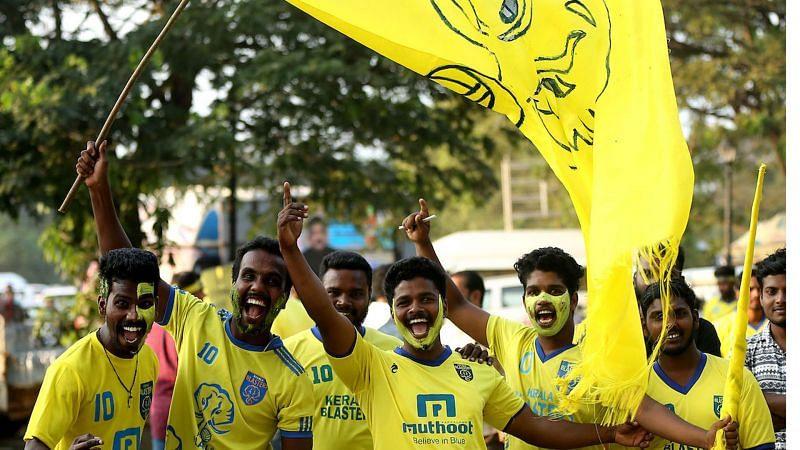 Kerala Blasters fans (Representational Image)