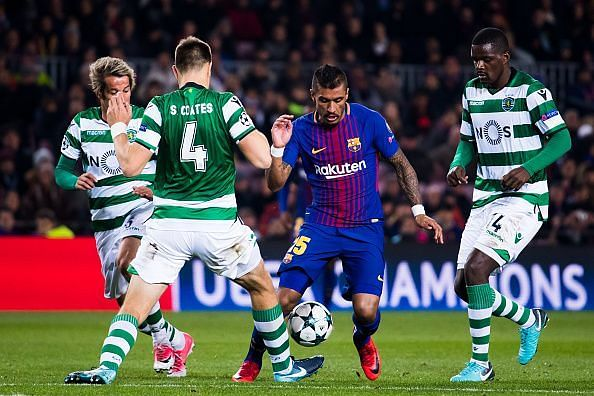 FC Barcelona v Sporting CP - UEFA Champions League