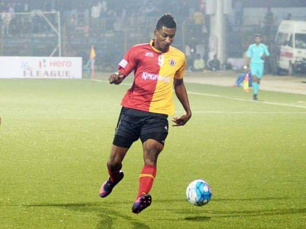 Willis Plaza had a strong penalty appeal turned down against Mohun Bagan.