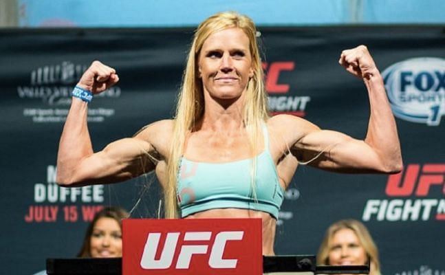 Holm is aiming to shock the world for a second time