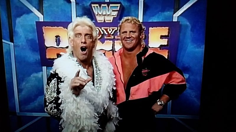 Ric Flair, Royal Rumble 1993 (Duration: 18:38, Elimination Order: 4, No. of Eliminations: 1)