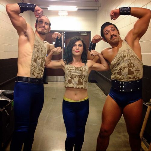 Bates with The Vaudevillians