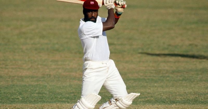 Viv Richards scored the then fastest test century