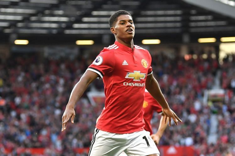 Fifa 18 Manchester United Star Marcus Rashford Wants A Position On Ea Sports Toty Bench