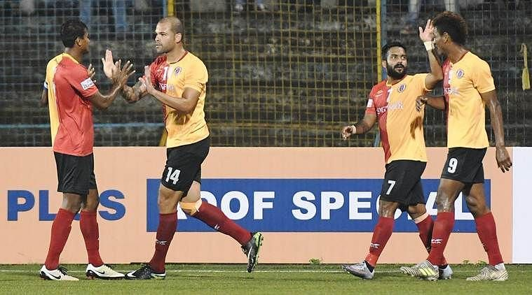 East Bengal team. Pic courtesy- The Indian Express.