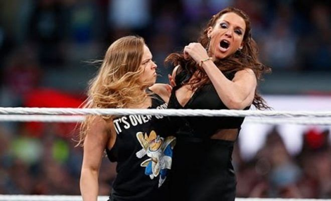 Photos: Ronda Rousey brings the fight during her in-ring