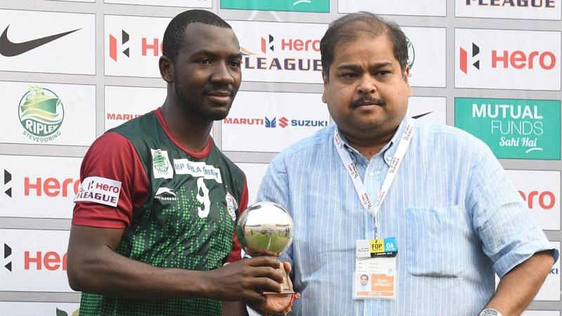 Dicka was named Hero of the match