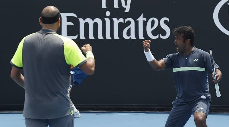 Leander Paes and Purav Raja are through to the pre-quarters