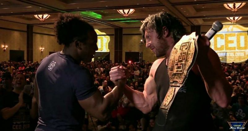 Kenny Omega doesn't seem as though he wants to come to WWE