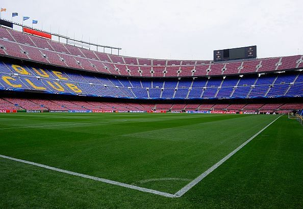camp nou home stadium of fc barcelona know more about stadium capacity history sportskeeda camp nou home stadium of fc barcelona