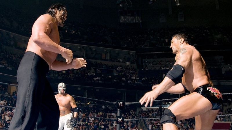 Batista won the World Heavyweight Championship