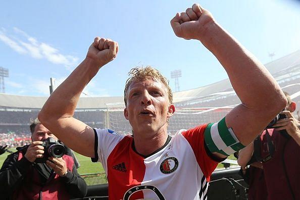Kurt after securing Feyenoord