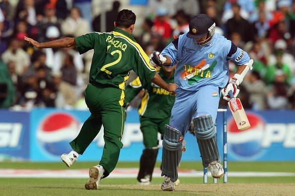 GBR: ICC Champions Trophy: Pakistan v India