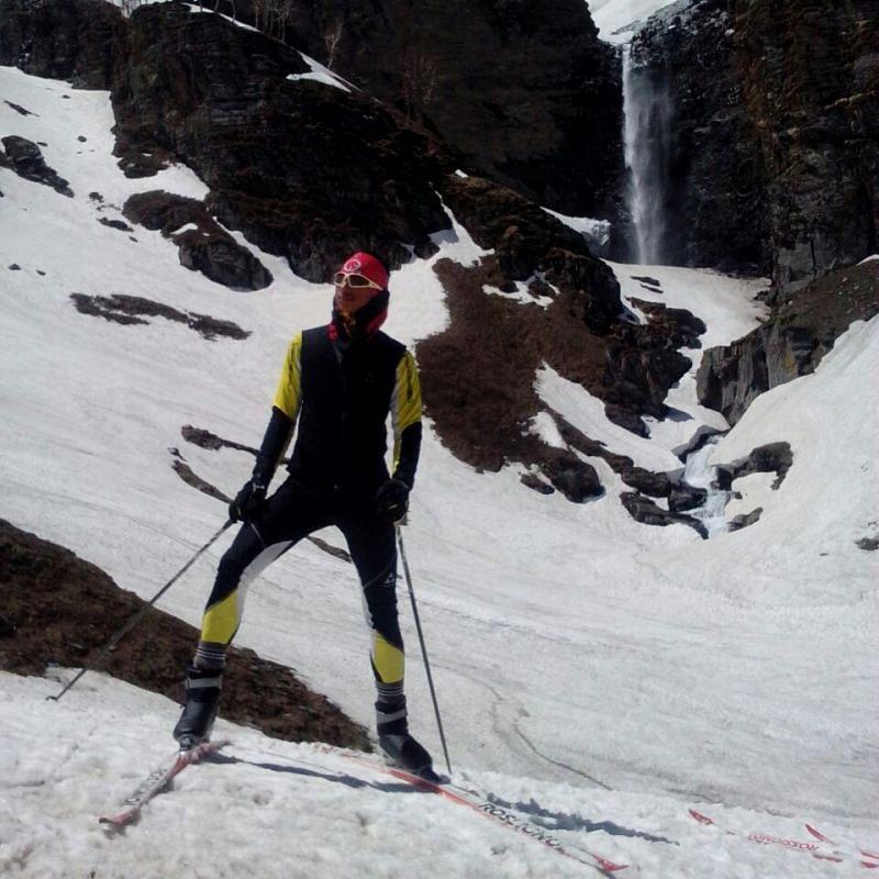 Jagdish wants to keep skiing as long as possible.