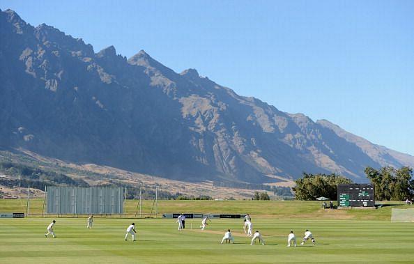 New Zealand XI v England - Practice Match: Day 1