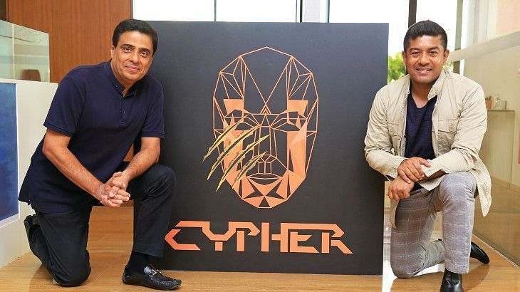 Ucypher co-founders Ronnie Screwvala and Supratik Sen.