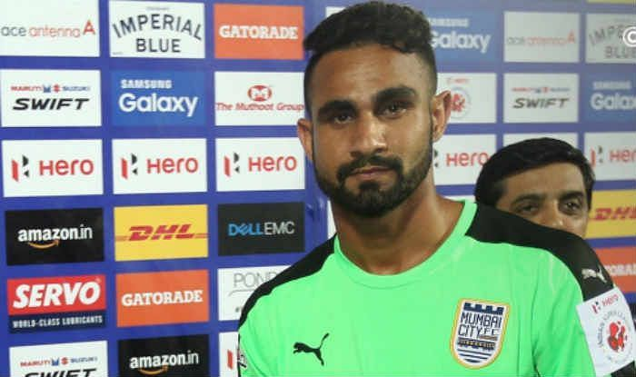 Amrinder Singh is one of the most expensive players in the ISL
