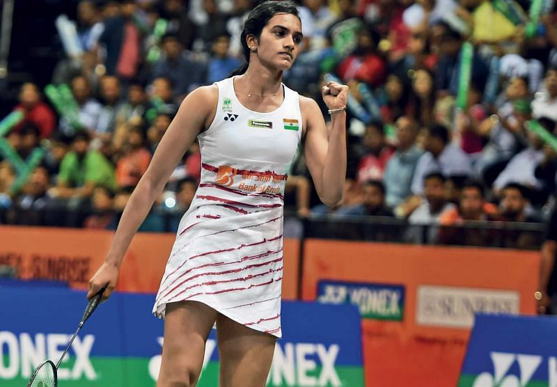 The India Open loss was World No. 4 P.V. Sindhu