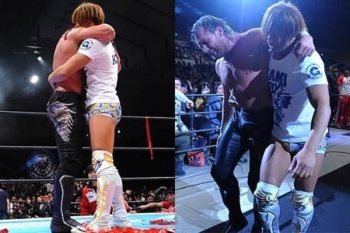 The Golden Lovers will compete in their first match as a tag team during this year