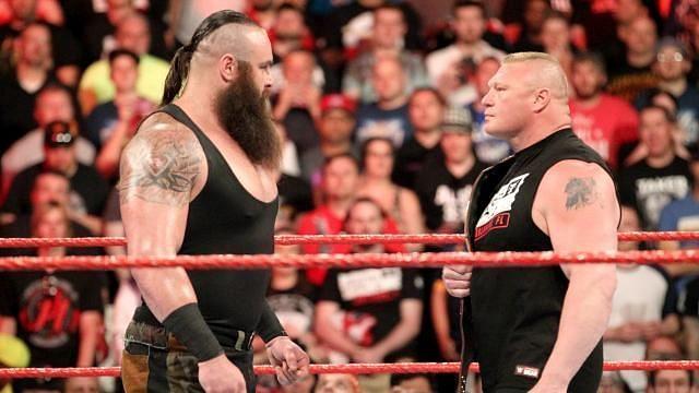 Braun Strowman vs. Brock Lesnar