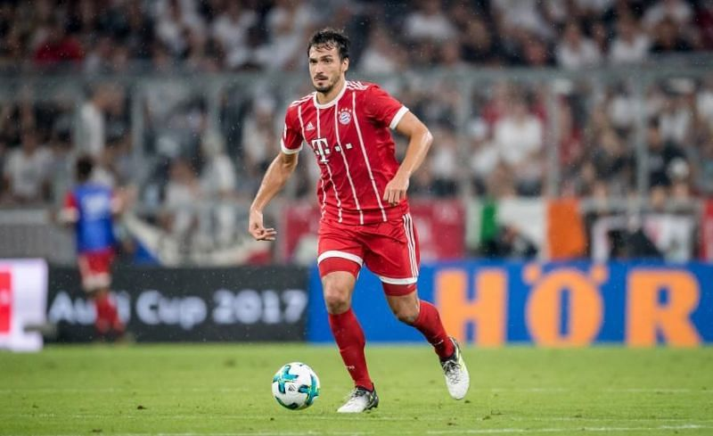 Hummels in action for Bayern Munich