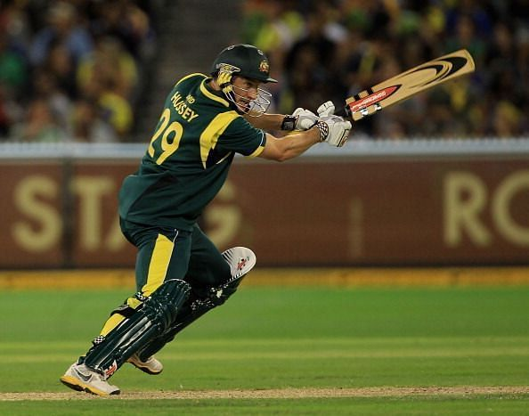 An inability to convert starts into big scores hurt David Hussey