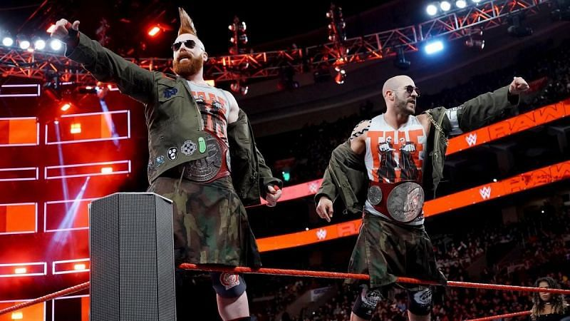The Bar will defend the Raw Tag Titles against the Titus Worldwide