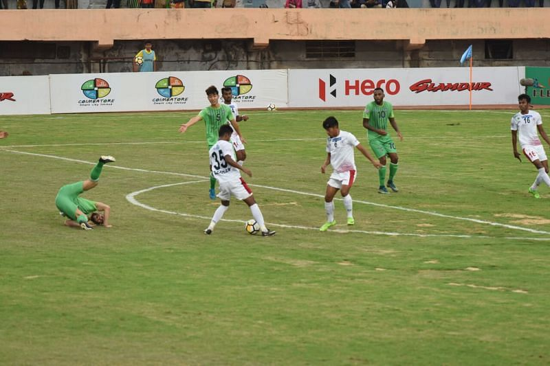 It was an abysmal first half. (Photo: I-League)