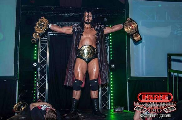 Drew Galloway is a former two-time ICW Heavyweight Champion