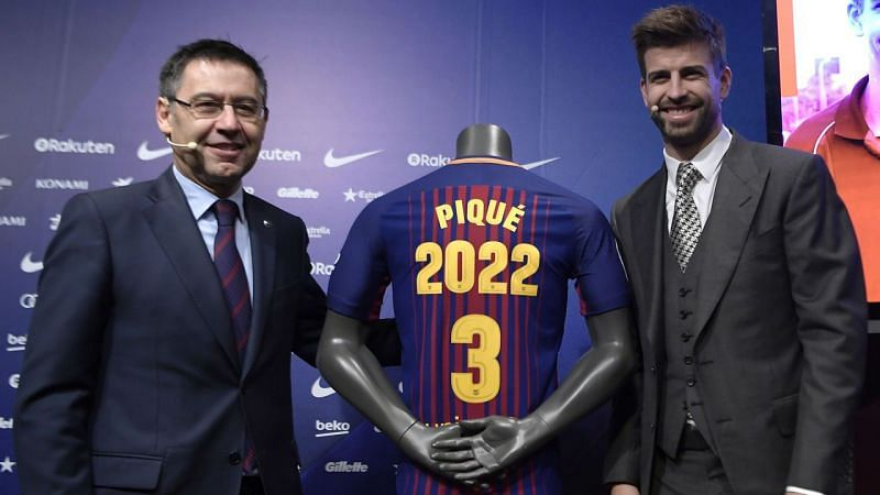 Pique has committed his future but Barca would be wise to start planning for a future without him