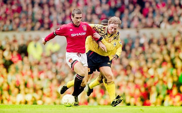 Manchester United v Nottingham Forest April 1996