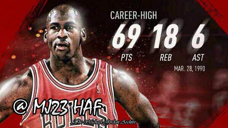 Quite possibly Michael Jordan