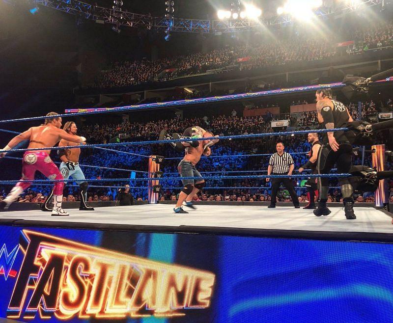 WWE Fastlane 2017 Results — Goldberg Wins Universal