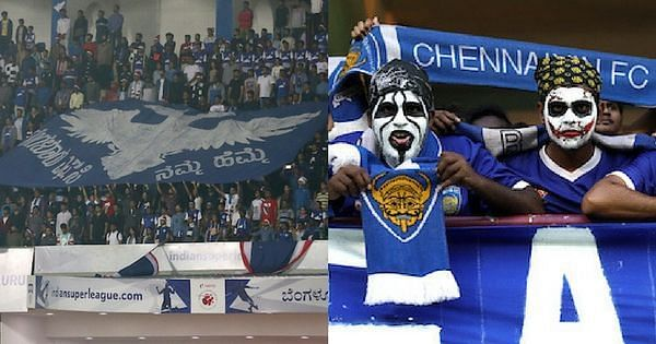 The Bengaluru-Chennaiyin fixture has all th potential to become a massive derby. (Photo: ISL)