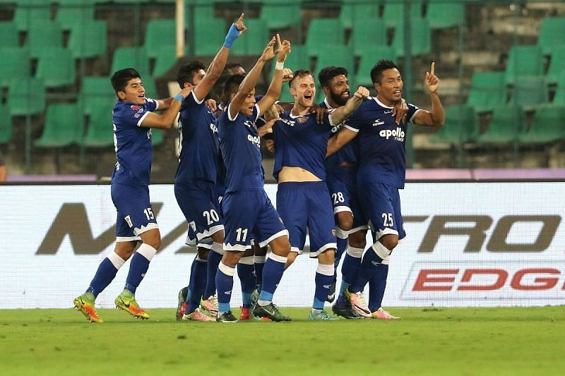 Gregory was happy with the showing from the players who came in [Photo: ISL]